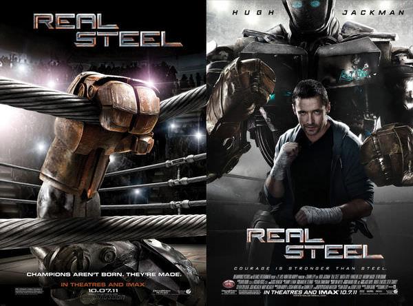 《鋼鐵擂台》(Real Steel)